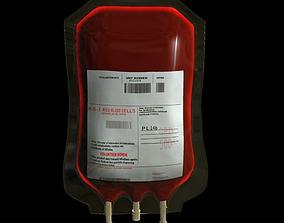 Blood Bag Medical 3D