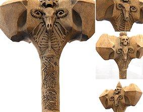 Ancient Bone Hammer 3D Printable Model