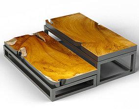 Teak Coffee Tables 3D model