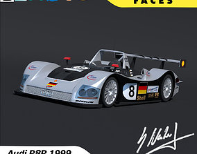 Audi R8R 1999 Le Mans 3D model