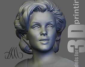 Marilyn Monroe 3D printable model