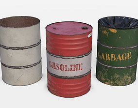 Barrels Asset 03 game-ready