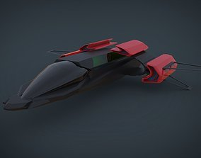 BattleWar SpaceShip 3D asset