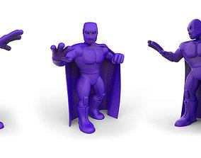 Mexican Wrestler El Santo 3D printable model