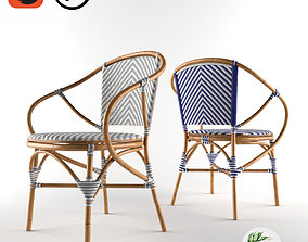 3D model TROPICAL - Pearl Bistro Chair