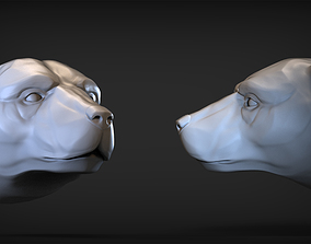 3D printable model Polar bear 1