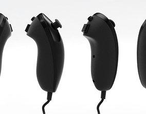 Wii Nunchuk Controller controller 3D