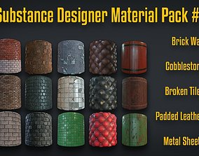 3D Substance Designer Material Pack 1