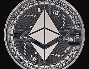 3D printable model Ethereum Coin