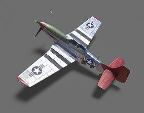 3D model p51D Mustang - High Quality WW2 Warbird