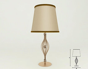Masiero 7600 TL1G table lamp 3D
