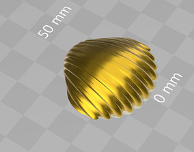 high detail shell from the beach 3D printable model