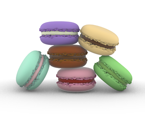 3D print model Macaron