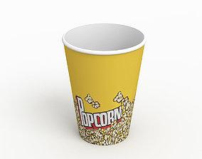 3D model Popcorn Cup