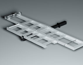 3D asset Motorcycle carrier hitch
