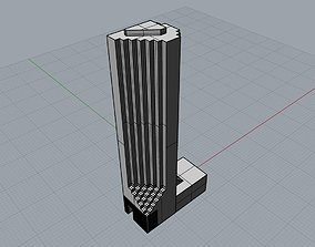 Trump Tower 5 ave 3D print model