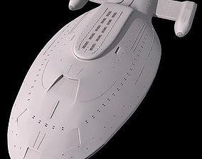 3D Spaceship 01
