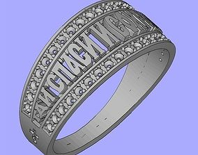 3D print model Ring religion save and protect
