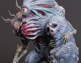 3D model Abomination character