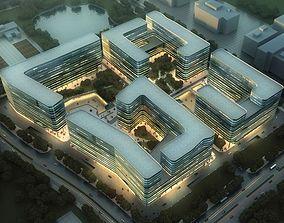 3D apartments Building