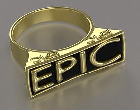 EPIC ring 3D printable model