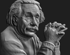 Albert Einstein Relief 3D printable model