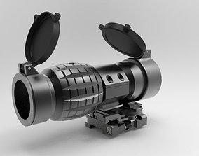 3D model EOTech 3x FTS Magnifier