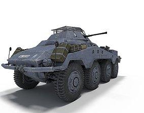 3D model SdKfz 234-1