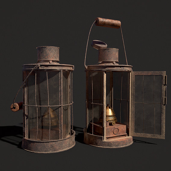 WWI Trench Lantern