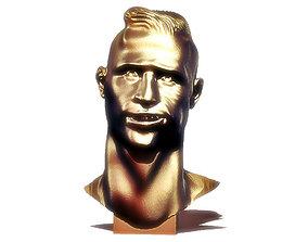 Cristiano Ronaldo Bust 3D printable model
