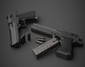 Gun Desert Eagle 3D model
