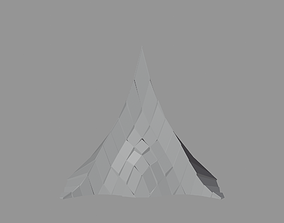 3D asset Peak Structure 2nd Version
