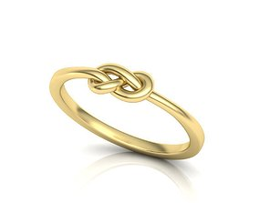 The Knot ring 3dmodel