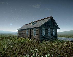 3D asset Village House