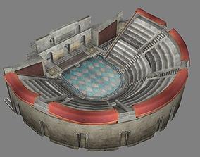 3D model Roman amphitheater