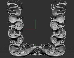 3D ABSTRACT LETTER U