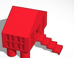 Doll House 3D printable model dollhouse