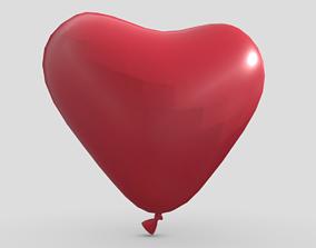 Balloon Heart 3D model PBR