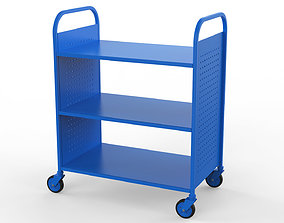 Generic Cart Library Transport 01 industrial 3D