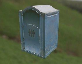 Mobile Toilet 3D asset
