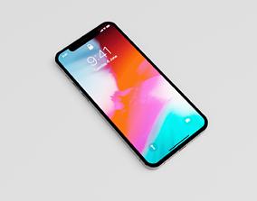 3D iPhone 12 Pro grey