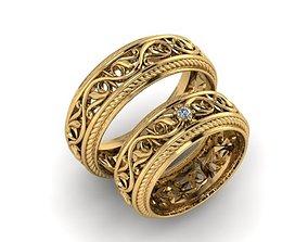 3D print model Wedding ring 001