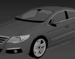 Volkswagen Passat CC 2008 3D model