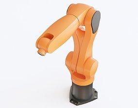 3D model Industrial robot 03
