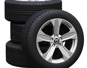Dacia wheels 3D