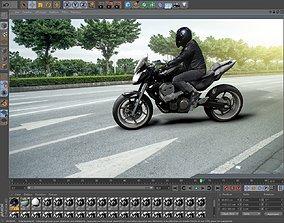 Moto Vehicle 3D