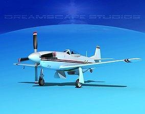 3D P-51 Mustang Sport V13