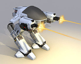 ED 209 Enforcement Droid 3D model