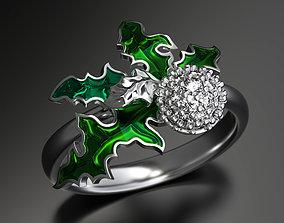 3D printable model Lighter than air enamel ring