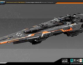 3D asset Federation Cruiser GK2